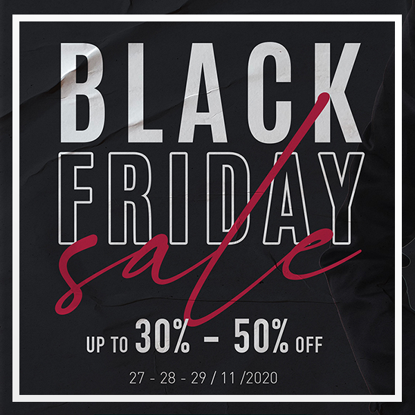 Black Friday Up To 30% – 50% Off [ 27 – 28 – 29 / 11 /2020 ]